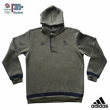 ADIDAS TEAM GB RIO 2016 ELITE ATHLETE HOODED SWEATSHIRT Size XL 48/50