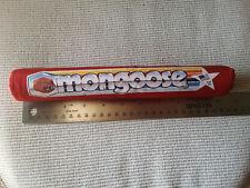 PRO SERIES RED MONGOOSE  HANDLEBAR  PAD NOS OLD SCHOOL BMX