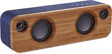 House of Marley Em-ja013-dn Get Together Mini BT Portable Audio System Denim