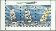 Suede Sweden Europa Christophe Colomb Vaisseaux Vessels Segelboote ** 1992 Bloc