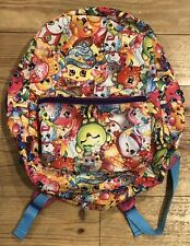 """Kids 16"""" SHOPKINS backpack with front zipper pouch, pink, Global Design Concepts"""