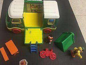 Vintage Tyco Sesame Street Camper Set - Early 90's