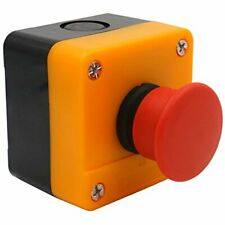 Baomain Red Sign Momentary Emergency Stop Weatherproof Push Button Switch 660