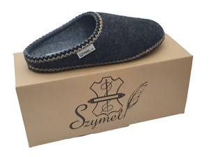 Felt Women`s Handmade slippers ,mules US 5-9, EUR 36 - 41