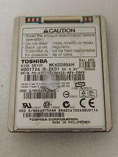 "Toshiba 60GB Internal 4200RPM 1.8"" IDE Ultra ATA/100 ATA-6 HDD1724 (MK6008GAH)"