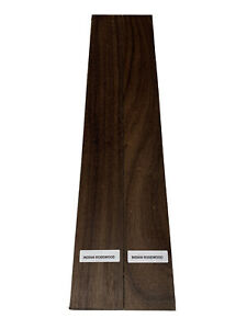 """2 Pack, Indian Rosewood Lumber Boards/Cutting Board Pieces - 3/4"""" x 2"""" x 18"""""""