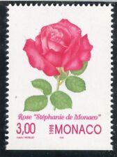 TIMBRE DE MONACO N° 2022 ** FLORE / FLEUR / PEINTURE DE COLETTE / ROSE