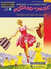 NEW The Sound of Music: Piano Play-Along Volume 25 Bk/online audio