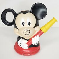 """Mickey Mouse Vintage Watering Can By Disney Midwest Quality Gloves  8 1/2"""" tall"""