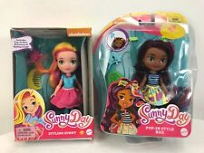 Fisher-Price Nickelodeon Sunny Day, Pop-in Style Rox- Sunny lot of 2