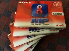 Video 8 Cassette ovp Super Qualität SONY P5-60MP3 V8 D8, MP Metal Particle