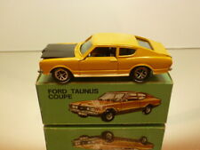 GAMA MINI 995 FORD TAUNUS COUPE - YELLOW 1:43 - VERY GOOD CONDITION IN BOX
