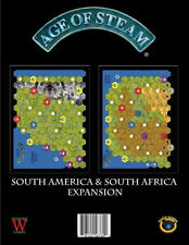 Age of Steam Expansion: South America and South Africa