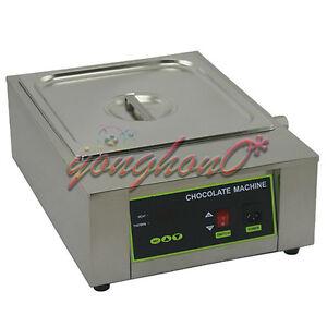 NEW Single Tank 8.5kg Chocolate Tempering Machine Chocolate Melting Machine 220V