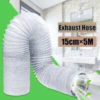 5m Abluftschlauch Schlauch Ø 15cm PVC Flexibel für Mobil Klimaanlagen