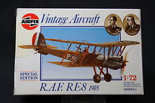 XL117 AIRFIX 1/72 maquette avion 01076 R.A.F. RE 8 1918 NB 1987