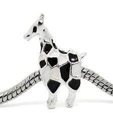 Giraffe Charm for European Snake Chain Charm Bracelet