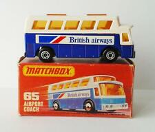 MATCHBOX LESNEY superfast MB 65 AIRPORT COACH mint in box made in England