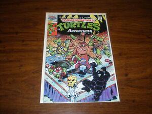 1989 TEENAGE MUTANT NINJA TURTLES COMIC BOOK. NO 7,MINT CONDITION,NEVER READ.