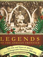 CHANDLER DAVID BIG GAME HUNTING BOOK LEGENDS OF THE AFRICAN FRONTIER hardback