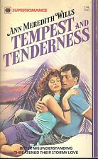 Tempest and Tenderness by Ann M. Wills (1983, Paperback,First Printing)