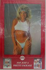 "1980 ORIGINAL ADVERT POSTER VersaChem Very Sexxy Girl""Not Just a Pretty Package"""