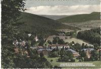 Alte Postkarte - Fernblick über Bad- und Stadt-Brückenau