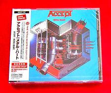 Accept Metal Heart CD JAPAN DIGITAL REMASTER MHCP-787