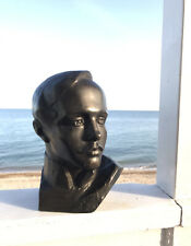 Original Sculpture, Man, Famous Poet Lermontov, Bust, Male Portrait, Beauty Boy