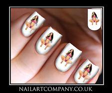 Nail Art Decals Nicki Minaj Music Transfers Stickers Wraps Foils Manicure X 32