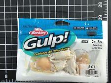 Berkley Gulp! Peeler Crab Amber Glow 2in | 5cm Soft Bait GSPC2-AG