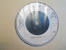 """ANDY GIBB """" SHADOW DANCING / TOO MANY LOOKS IN YOUR EYES """" 7"""" SINGLE 1978 EX"""
