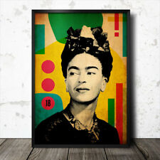 Frida Kahlo Pop Art Poster Picasso Dali Diego Rivera
