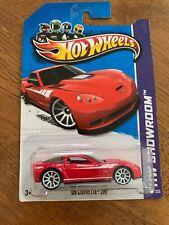 Hot Wheels - Hw Showroom (2013) - '09 Corvette Zr1 - Red
