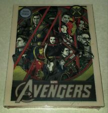 New Marvel Avengers Blu-ray Steelbook™ Blufans Exclusive Mondo Variant