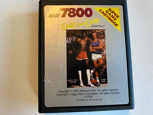 Atari 7800  One-on-One Basketball  CX7824 GAME CARTRIDGE ONLY