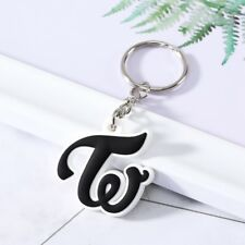 Kpop TWICE Keychain Letter W Stereoscopic Drop Pendant Plastic Lssed Nssad