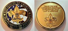 """Boy Scouts of America Beautiful 2012 FOS """"Thank You"""" Coin"""