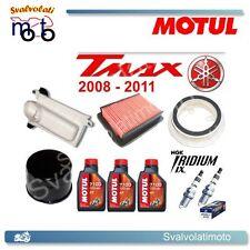 TAGLIANDO T-MAX 2011 3 LITRI MOTUL 7100 + FILTRI ARIA + FILTRO OLIO + IRIDIUM