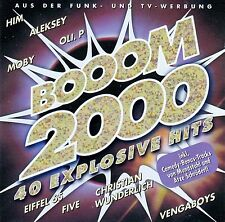 BOOOM 2000 - 40 EXPLOSIVE HITS / 2 CD-SET
