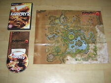 FAR CRY 2 PC DVD ROM FARCRY II Originale con Manuale & Mappa-Veloce Post