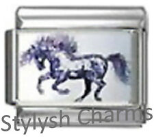 Horse Arabian Stallion Photo Italian Charm 9mm Link-1x Ho044 Sngle Bracelet Link