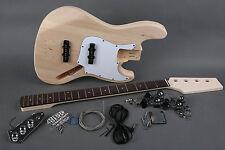 Kit DIY Bajo eléctrico Jazz Bass Tilo - Jazz Bass electric bass Kit DIY Basswood