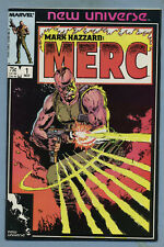 Mark Hazzard: Merc #1-12 Annual #1 Complete Series Marvel New Universe