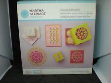 Martha Stewart Crafts Cut and Fold Hearts Punch Machine, Metal, 42-95005 MIB