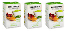 Bigelow Benefits Refresh (Turmeric Chili Matcha) - 3 Boxes - 54 Tea Bags