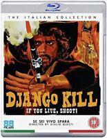 Django Kill - If You Live Shoot Blu-Ray Nuevo Blu-Ray (88FB269)