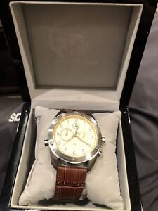 Mercedes Benz Tourneau Mens Chronograph Watch With Box New??? Looks To Be
