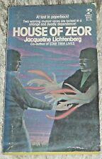 Jacqueline Lichtenberg, HOUSE OF ZEOR, Vintage 1977 Science Fiction PB Novel
