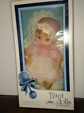 """VINTAGE TIARA PLAYMATES 11"""" SWEET TENDER TOUCH BABY DOLL IN BOX 1981"""